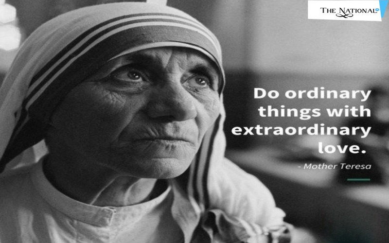 Mother Theresa - One Of The Honest Women