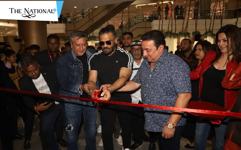 Suniel Shetty Launch The New Flagship Store Of Rookie