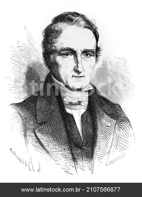 Joseph Gay-Lussac (1778-1850), French chemist.