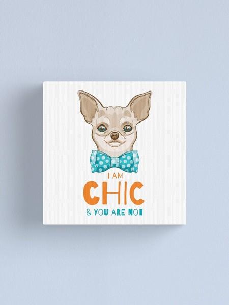 Chihuahua Doodle Sketch T Shirt Print Canvas Poster Wall Art Home Decor Unisex Tshirt