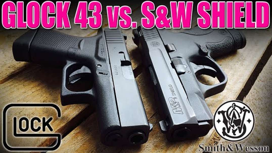 Single Stack 9mm: Glock G43 vs. Smith & Wesson Shield