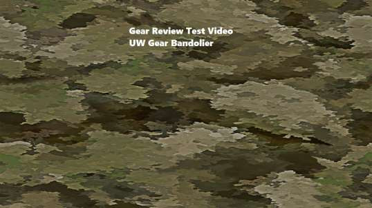 UW Gear Bandolier Review