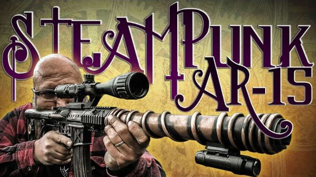 Steampunk rifle - Fully functional! You've GOT to see this!!