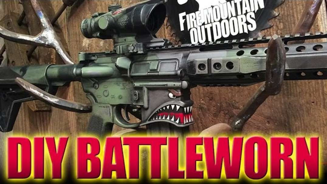 DIY Battleworn Tutorial  (Rattlecan Magic!!)