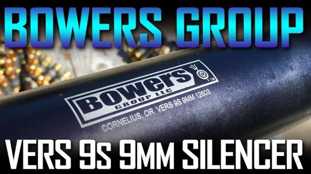 Bowers Group VERS9s Silencer