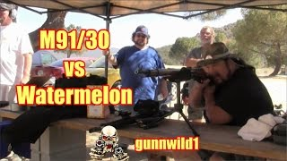 Mosin Nagant M91/30 vs Watermelon