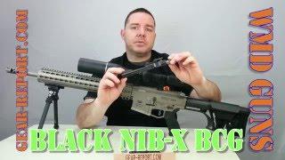 WMD Guns New Black NiB-X Coated BCG for AR15