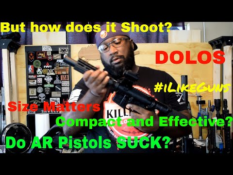 Let's talk about this DOLOS equipped AR Pistol (#iLikeGuns)