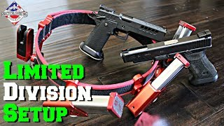 Competition Shooting Rig Setup: Limited Division