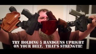 Bigfoot Gun Belts show serious strength