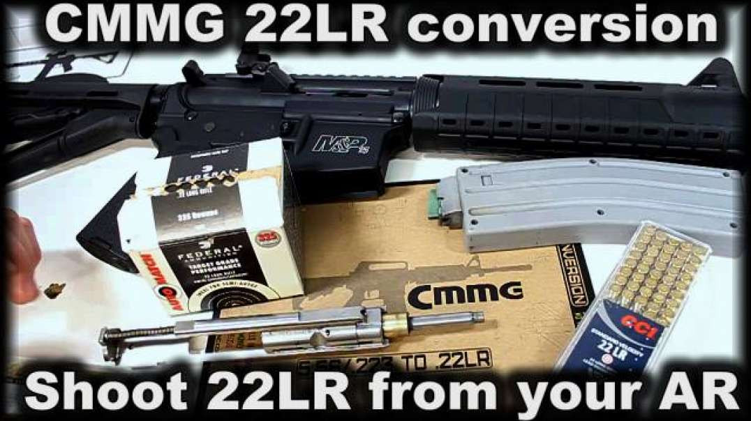 CMMG 22LR conversion for AR15