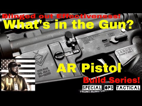What's in the Gun? DOLOS Equipped AR Pistol! Build Series(#lifeisshwell)