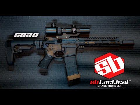 SB Tactical SBA3 Showcase video(#lifeisshwell)