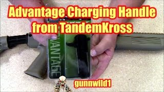 Advantage charging handle from TandemKross