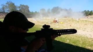 Gun Stock and Barrel at the July 4th Machine Gun shoot Hernando Sportsman Club 2017
