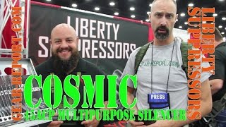 Liberty Suppressors Cosmic 45ACP MULTIPURPOSE SILENCER - NRA 2016 - Gear-Report.com