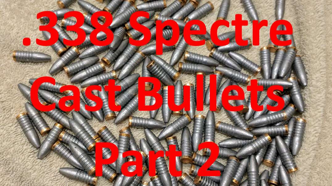 Making Super Sonic 338 Spectre Cast Ammo: Part 2 Gas Check, Sizing, & Powder Coating