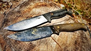 Bushcraft Bowie - Dry Creek Forge