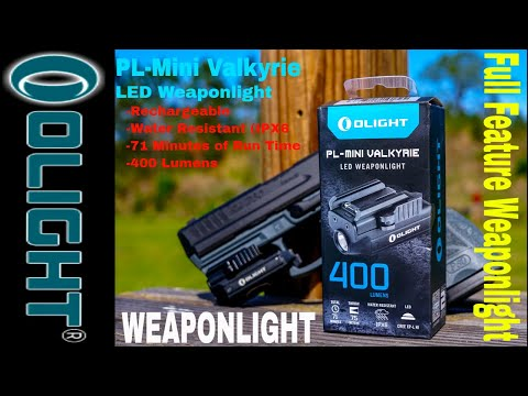 OLight PL-Mini Valkyrie LED Weapon Light