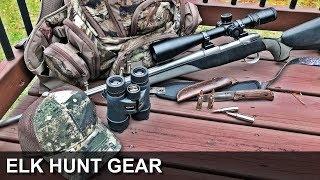 Elk Hunt Gear
