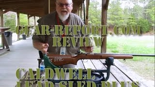 Caldwell Lead Sled Plus Recoil Reducing Rifle Rest Review Gear-Report.com