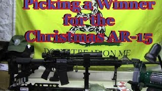 Picking a Winner for the Christmas AR 15