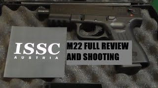 ISSC AUSTRIA M22 - 22LR PISTOL- FULL REVIEW AND SHOOTING