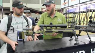 Steyr SSG 08 M1 Prototype Rifle - NRA Annual Meetings & Exhibits 2016 - Gear-Report.com
