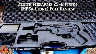 Zenith Firearms Z5-k Pistol Review | GearsofGuns
