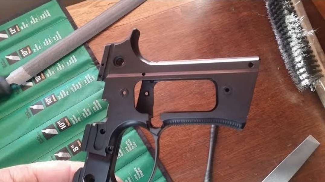 Beretta 92FS Vertec Grip Conversion Part 2