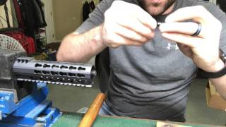 AR-15 Upper and Lower Assembly  (3-8-17)