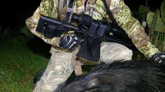 Thermal Hog Pulsar 300 AAC Blackout Apex XD75 1st Day Texas Hog #1