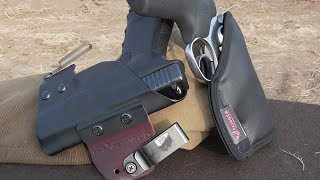Carrying Concealed with Clinger Holsters