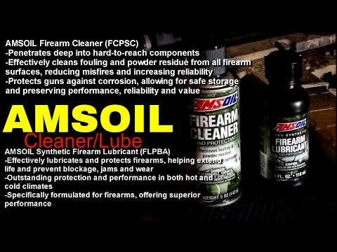 Amsoil Firearm Lubricant and Cleaner
