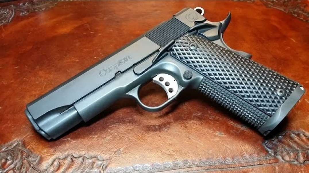 1911 Build 8 Commander 45 Acp Part 2 Magwell Soldering