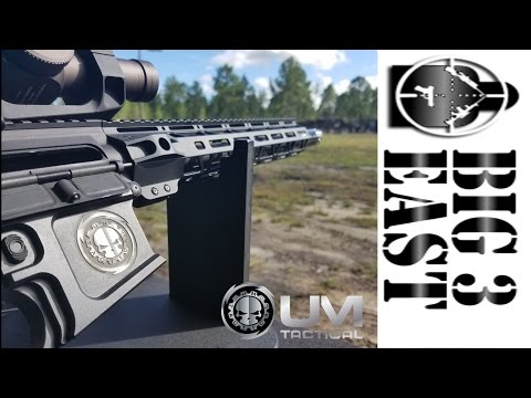 UM Tactical at the Big 3 East Media Event Fall 2016