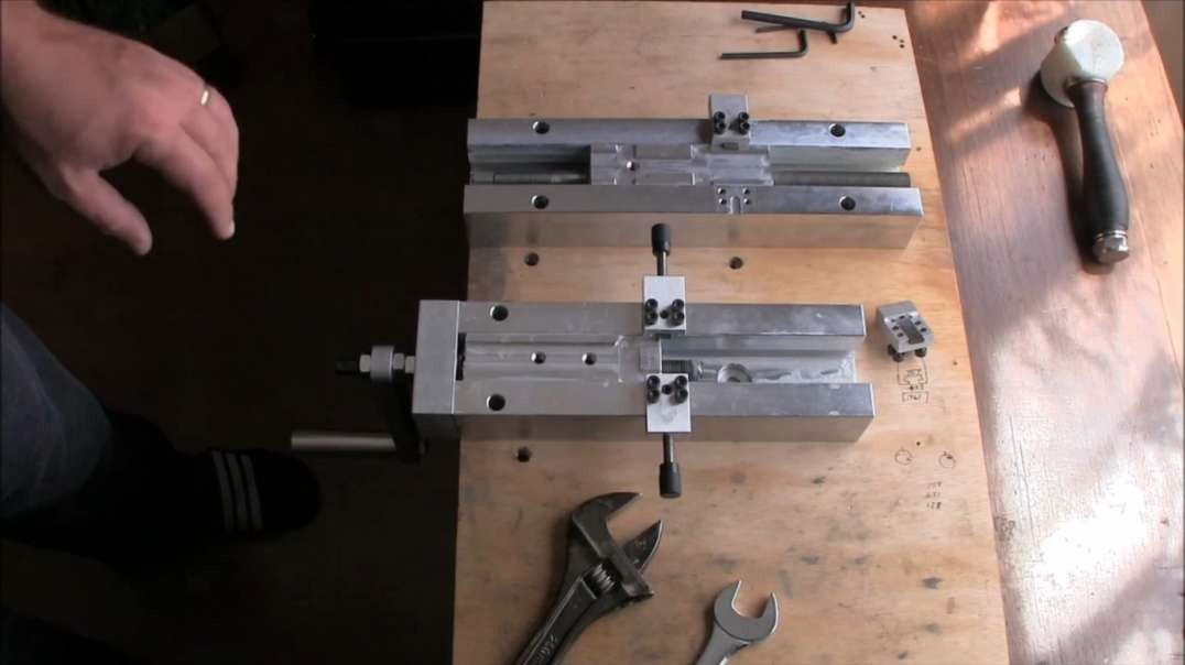 Matrix Precision Sig Rail Cutting Jig upgrade