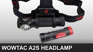Giveaway - 1,050 Lumen Wowtac A2S Headlamp