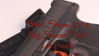 Shot Show 2018 Sig Sauer P365 1st Look