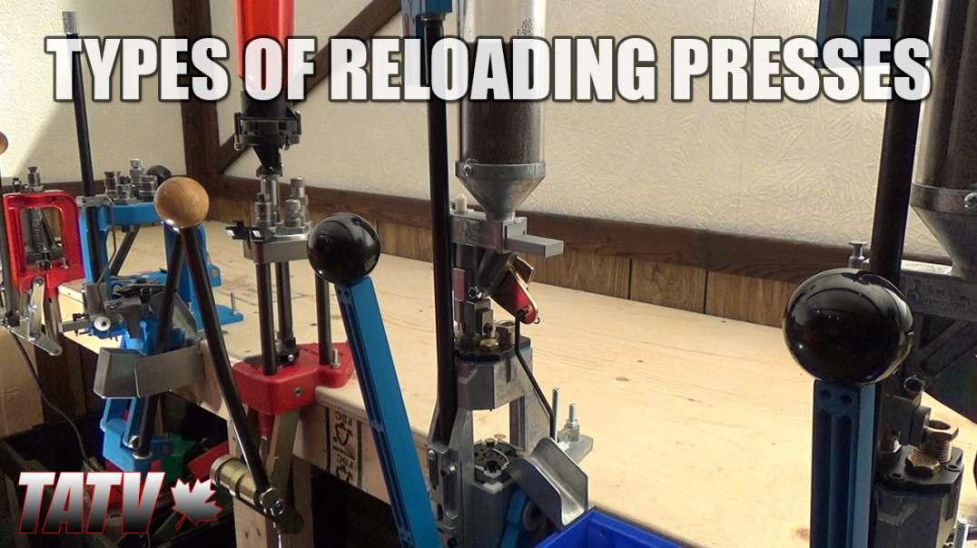 Types of Reloading Presses