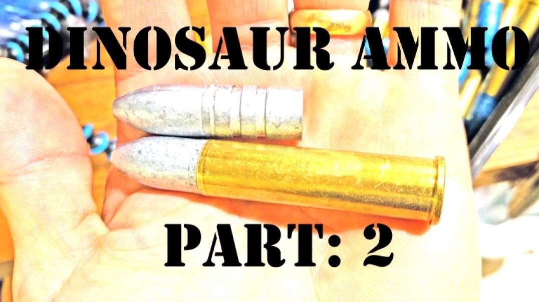 Dinosaur Ammo? 880 gr. Bullets for the 50 Alaskan Pt2: Loading the Ammo
