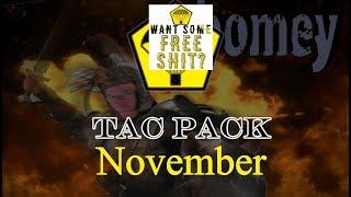 Tac Pack   November *GIVEAWAY*