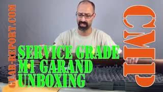 Civilian Marksmanship Program CMP Service Grade M1 Garand unboxing - Gear-Report.com