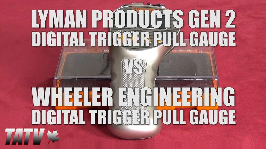 Lyman Gen 2 Digital Trigger Pull Gauge vs Wheeler Engineering Digital Trigger Pull Gauge