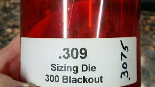300 Blackout Sizing Die Problems