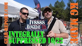 KG Made Integrally Suppressed Ruger 10/22 - IV8888 Range Day - Gear-Report.com