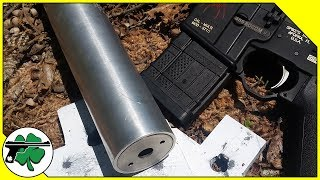 458 SOCOM ATF Form One Suppressor - Supersonic Vs Subsonic Testing