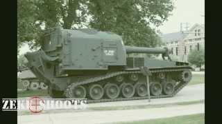 Guns Around Town // M55 Self Propelled Howitzer