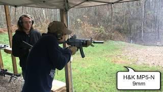 Test Fire of 43 Machine Guns - One Take