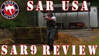 Ghost Tactical Review:  SAR9 by SAR USA:  Full Review with Pro's and Con's
